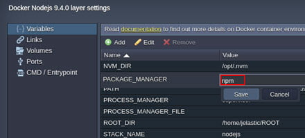 Node.JS Package Manager