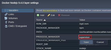 Node.JS Process Manager